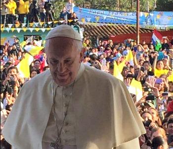Papa Francesco a Bañado Norte: una fede non solidale o è debole, o è malata o è morta...