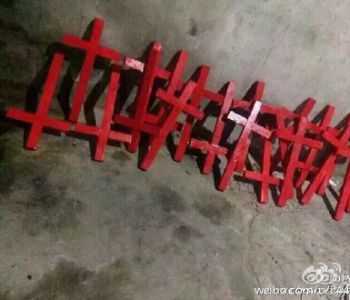 Cina: il governo abbatte le croci? I fedeli le rifabbricano!