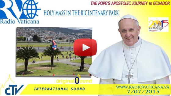 Santa Messa nel Parco del Bicentenario