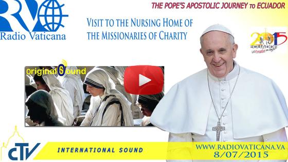 Visita alla Casa di Riposo delle Missionarie della Carità