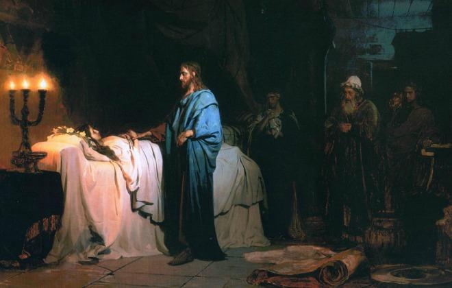 #Vangelo: Mia figlia è morta proprio ora; ma vieni ed ella vivrà.