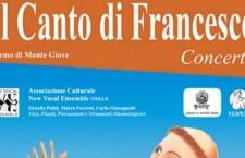 Il Canto di Francesco: sabato 18 luglio all'Eremo di Monte Giove