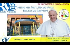 Incontro con Religiosi e Seminaristi scuola Don Bosco REPLAY-TV giovedì 9 luglio 2015 ore 21:45