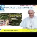 Santa Messa di Papa Francesco dal Parco de Los Samanes, Guayaquil LIVE WEB-TV lunedì 6 luglio 2015 ore 18:30