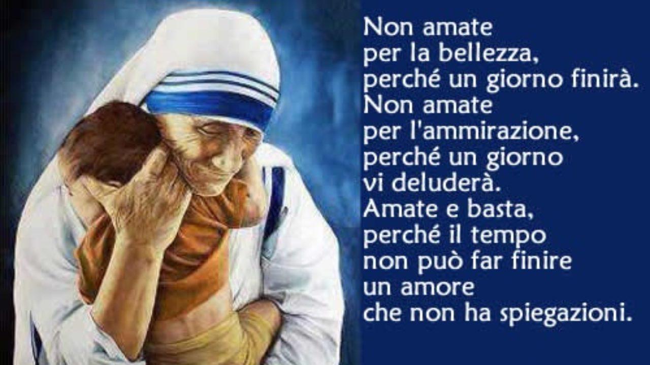 Frasi Di Auguri Di Natale Di Madre Teresa.Ho Sentito Il Battito Del Tuo Cuore La Preghiera Stupenda
