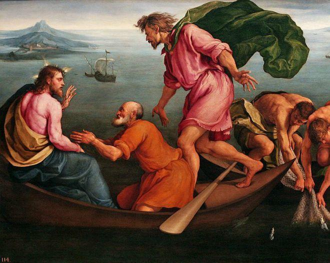#Vangelo: Raccolgono i buoni nei canestri e buttano via i cattivi.