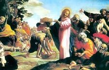 Vangelo (13 Aprile 2018) Gesù distribuì i pani a quelli che erano seduti, quanto ne volevano.