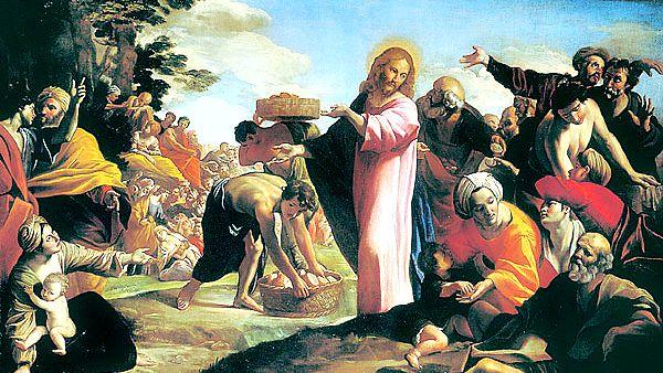 #Vangelo: Distribuì a quelli che erano seduti quanto ne volevano.