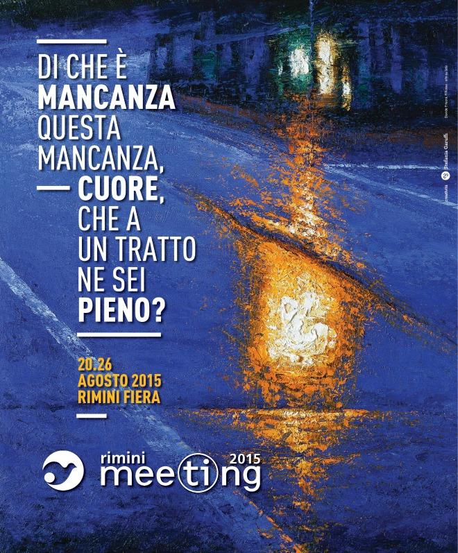 Il tema della mancanza al centro del Meeting di Rimini 2015