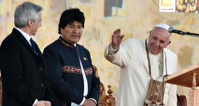 Papa Francesco in Bolivia: Come ospite e pellegrino vengo per confermare la fede dei credenti
