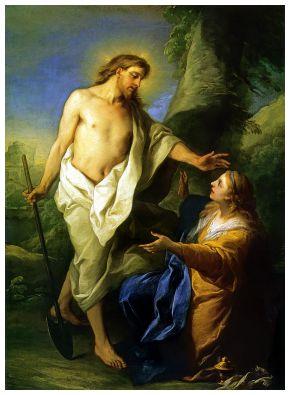 #Vangelo: Ho visto il Signore e mi ha detto queste cose.