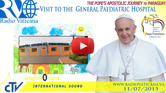 "Visita all'Ospedale Generale Pediatrico ""Niños de Acosta Ñu"""