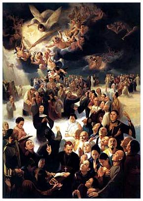 I Santi di oggi – 9 luglio Santi Martiri Cinesi (Agostino Zhao Rong e 119 Compagni)