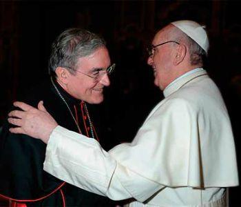 Card. Sistach presenta al Papa libro su pastorale nelle grandi città