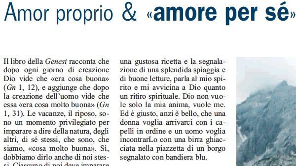 """Amor proprio & """"amor per sé"""""""