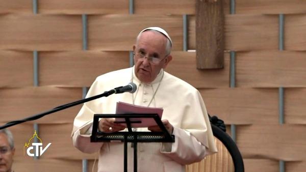 Papa Francesco. Giovani: prendetevi cura del mondo di oggi!