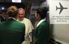 Segui sul radar il volo di rientro di Papa Francesco minuto per minuto