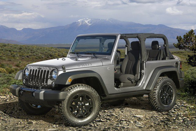 La Jeep Wrangler come Papamobile