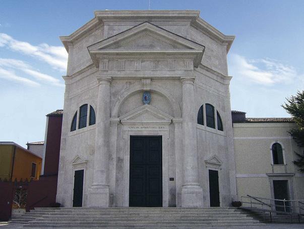 Il santuario della Madonna dell'Apparizione a Pellestrina