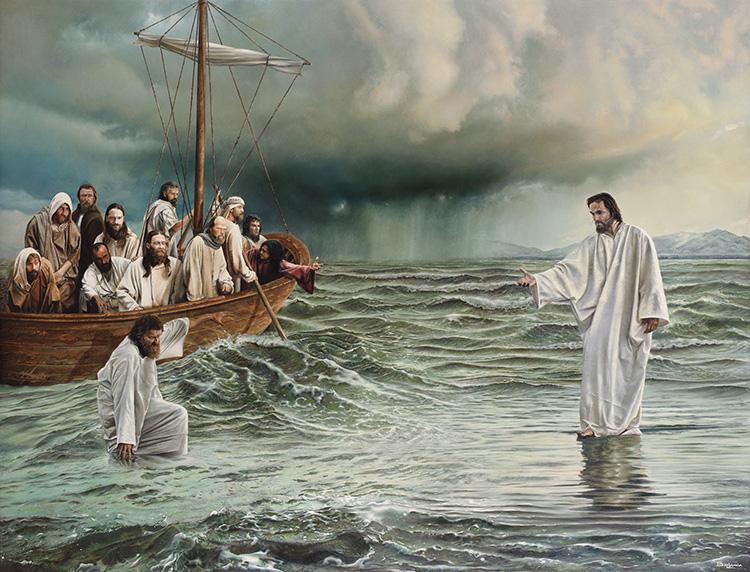 #Vangelo: Coraggio, sono io, non abbiate paura!