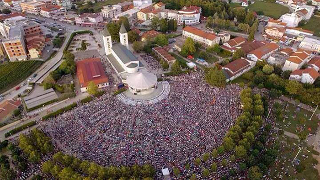 Medjugorje, prayer youth festival