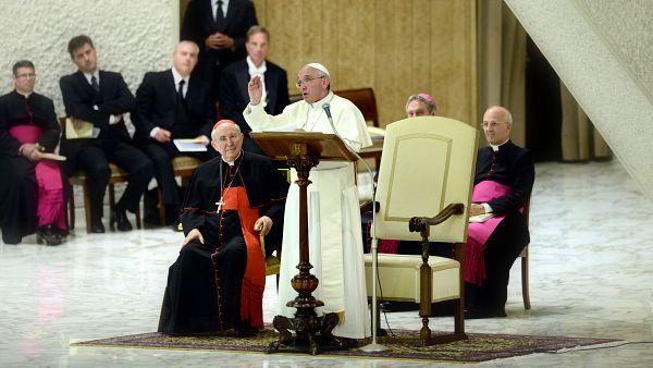 Il Movimento Eucaristico Giovanile incontra Papa Francesco
