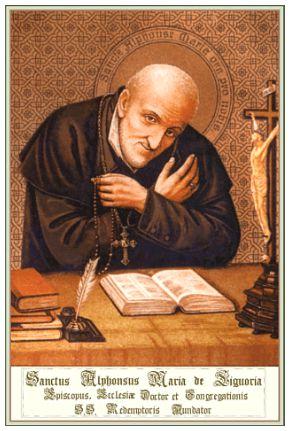 I Santi di oggi – 1 agosto Sant'Alfonso Maria de' Liguori Vescovo e dottore della Chiesa