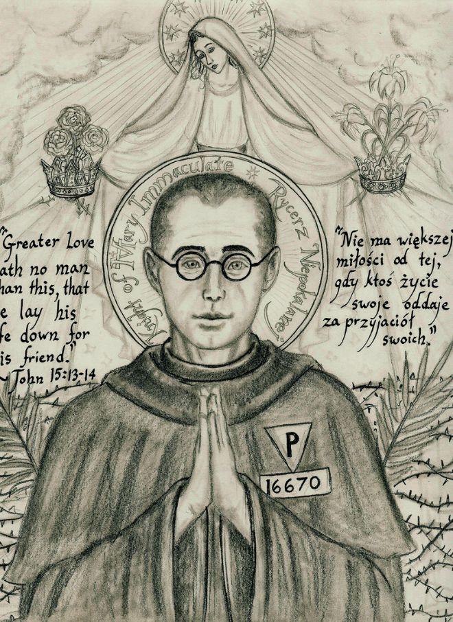 I Santi di oggi – 14 agosto San Massimiliano Maria Kolbe Sacerdote e martire