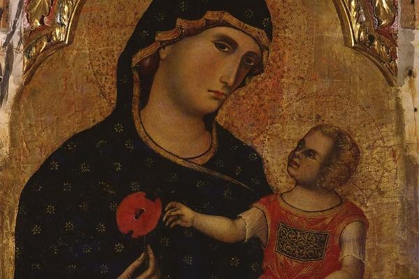 Una-Madonna-con-Bambino-di-Paolo-Veneziano-1333