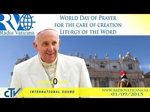 giornata mondiale di preghiera per il Creato
