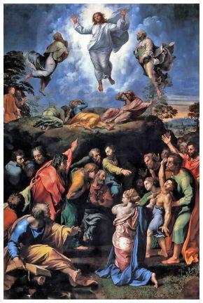La Trasfigurazione. Un dono di Dio per aiutarci a scendere dal monte...e affrontare la vita