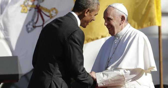 Papa Francesco alla Casa Bianca: Figlio di una famiglia di migranti