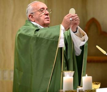 Papa Francesco: il conforto viene da Gesù, non dalle chiacchiere...