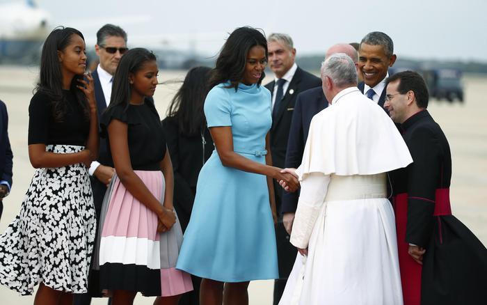 Papa Francesco è arrivato negli Stati Uniti