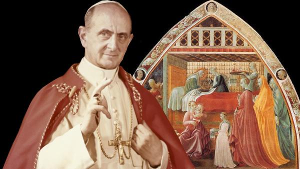 La Natività di Maria Santissima, con le parole di Paolo VI