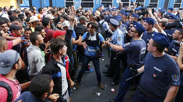 Budapest Migranti