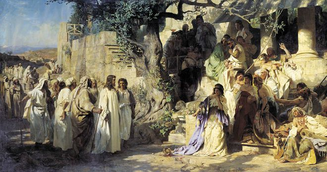 #Vangelo (18 settembre): C'erano con lui i Dodici e alcune donne che li servivano con i loro beni.