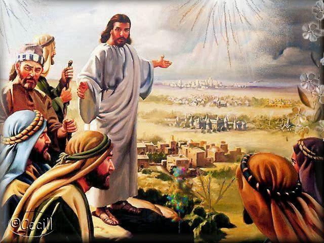 (Lc 9,1-6) Li mandò ad annunciare il regno di Dio e a guarire gli infermi.