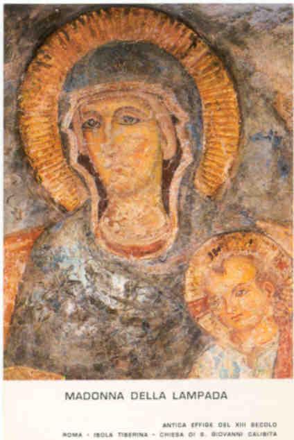 Madonna della Lampada Isola Tiberina