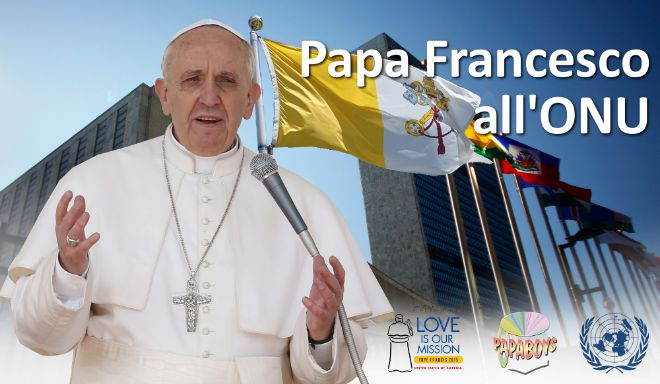 Papa Francesco all'Onu