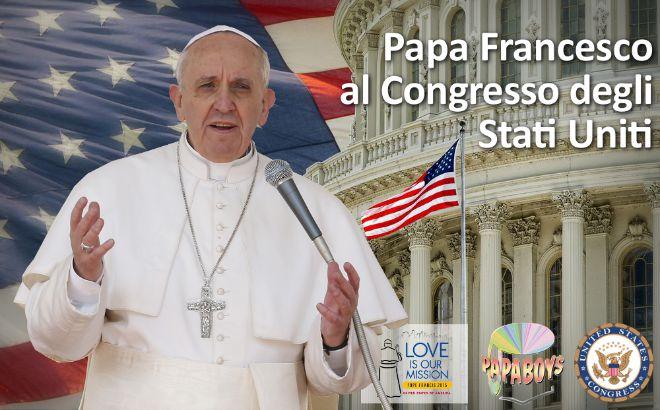 Papa Francesco al Congresso degli Stati Uniti