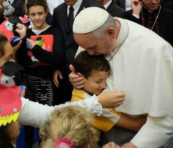 Riapre il Dispensario S. Marta: con il Papa per i bambini