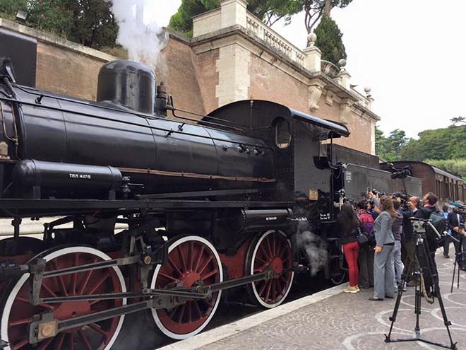 Treno Castel Gandolfo Vaticano - Serena Sartini