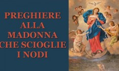 Se i nodi della nostra vita sono parecchio 'intrecciati' con questa preghiera Maria li scioglie tutti!