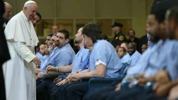 Papa Francesco ai detenuti: tutti noi abbiamo bisogno di essere purificati!