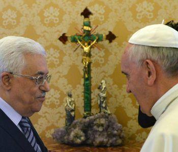 Palestina-Santa Sede: telefonata ieri sera tra il presidente palestinese Abu Mazen e Papa Francesco