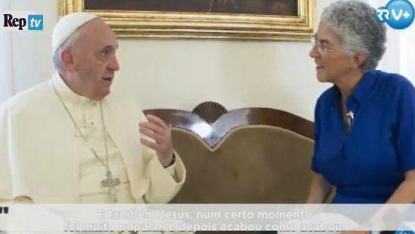 Papa Francesco: Io popolare? Anche Gesù lo era, e sappiamo come è finito