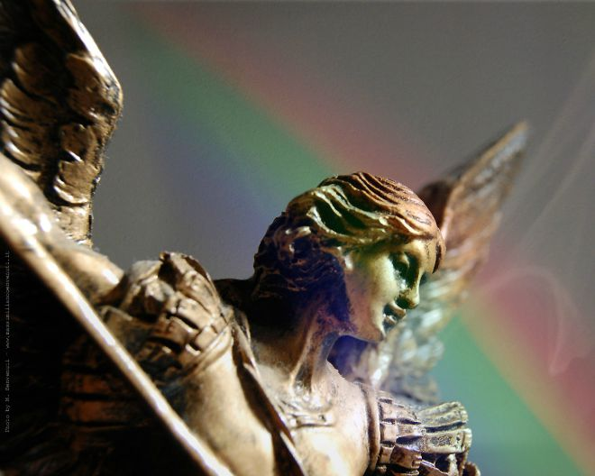 The Archangel Michael was already considered by the Jews as the prince of the angels, protector of the chosen people, symbol of the powerful divine assistance to Israel.