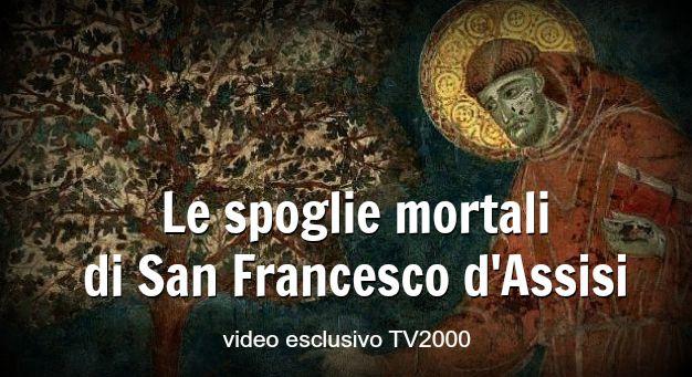 Video esclusivo: la ricognizione dei resti mortali di San Francesco d'Assisi