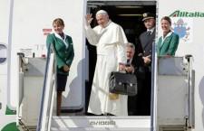 Per seguire il volo di Papa Francesco minuto per minuto: